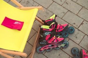 im Bild die K2 V02 90 BOA W Inline Skates